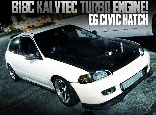 B18C VTEC TURBO EG CIVIC