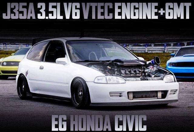 J35A V6 VTEC ENGINE EG CIVIC