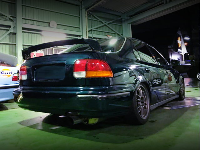 REAR EXTERIOR EK3 CIVIC FERIO
