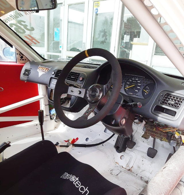 INTERIOR EK9 CIVIC TYPE-R RACE CAR