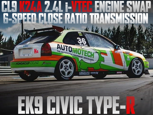 K24A iVTEC ENGINE EK9 CIVIC TYPE-R