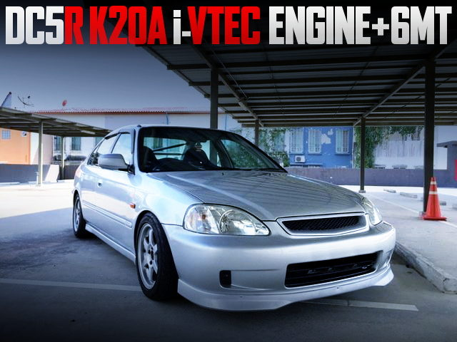 DC5R K20A ENGINE WITH 6MT SWAP EK CIVIC FERIO