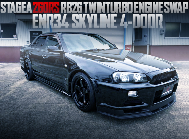 RB26 ENGINE SWAP ENR34 SKYLINE SEDAN