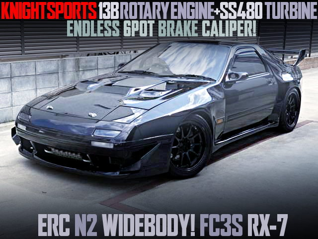 KNIGHT SPORT TUNING FC3S RX-7 WIDEBODY