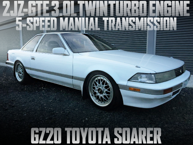 2JZ TWINTURBO ENGINE 5MT GZ20 SOARER