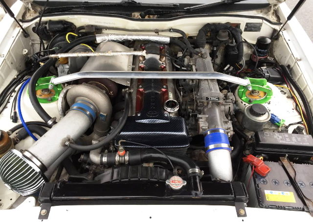 2JZ-GTE ENGINE WITH T78 SINGLE TURBO