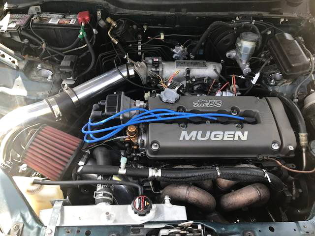 B18C VTEC TURBO ENGINE
