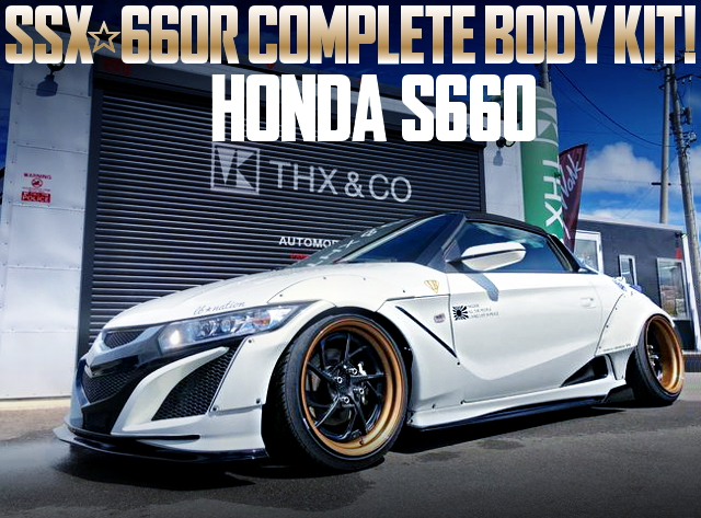 SSX660R BODY KIT HONDA S660