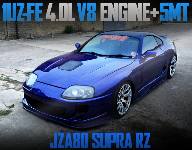 1UZ V8 ENGINE 5MT JZA80 SUPRA RZ
