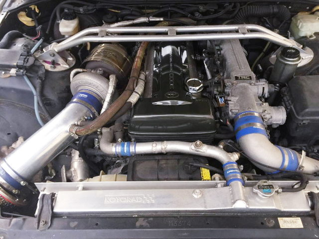 2JZ-GTE WITH TO4Z SINGLE TURBO