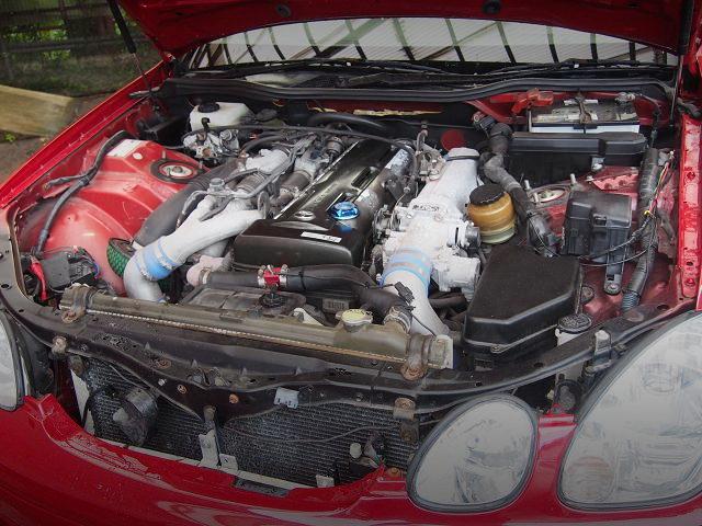 NON VVTi 2JZ-GTE TWINTURBO ENGINE