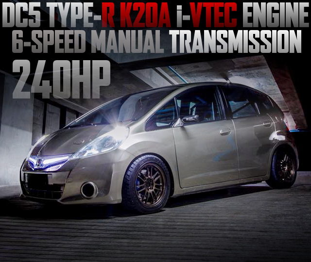 K20A iVTEC SWAP 6MT GE JAZZ