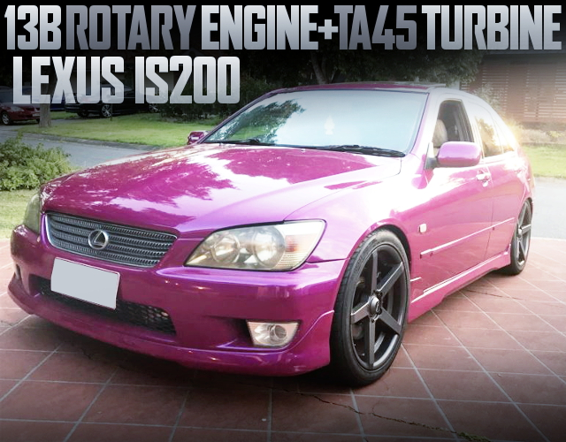 13B ROTARY ENGINE LEXUS IS200