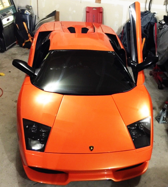 FRONT FACE LAMBO LP640 REPLICA