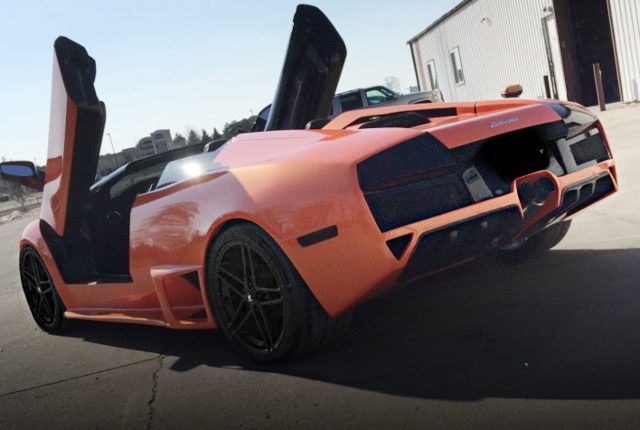REAR EXTERIOR LAMBO LP640 REPLICA