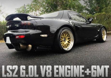 LS2 V8 ENGINE 6MT FD3S RX7