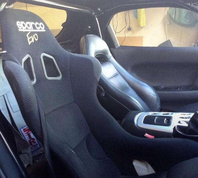 SPARCO EVO SEAT DRIVER
