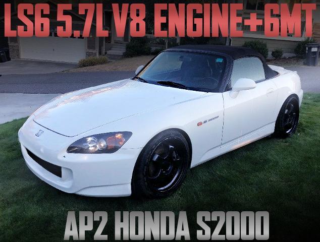 LS6 V8 ENGINE 6MT AP2 S2000 WHITE