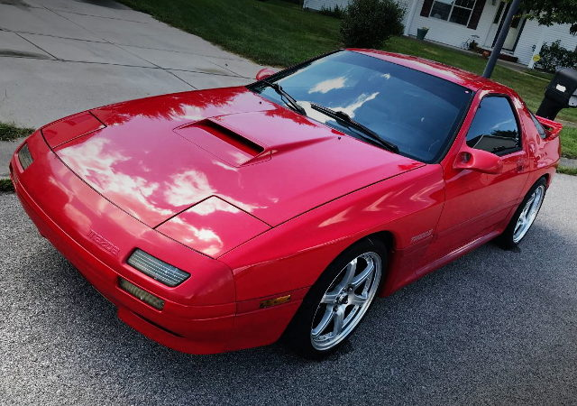 FRONT FACE FC3S RX-7 RED