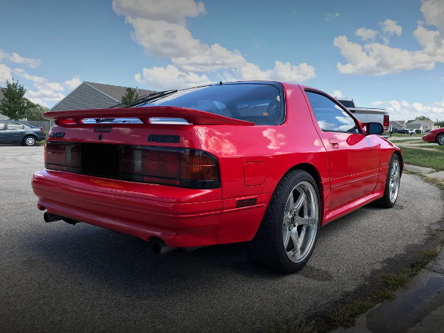 REAR TAIL LIGHT FC3S RX-7 RED
