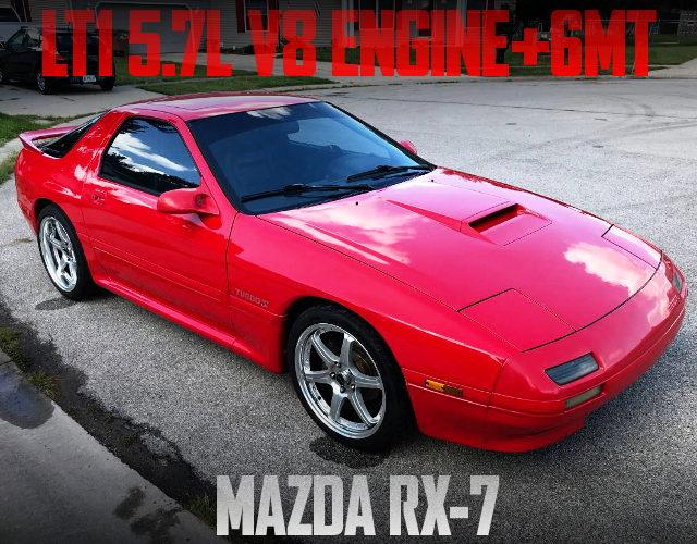 LT1 V8 ENGINE 6MT FC3S RX-7