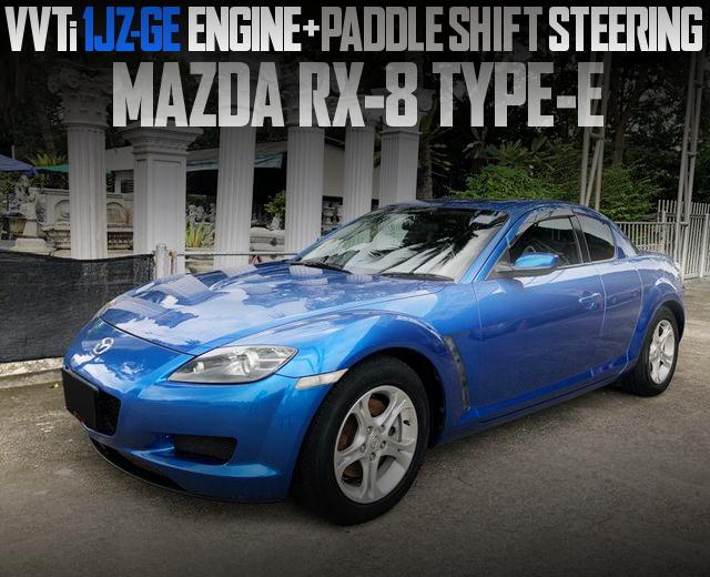 1JZ-GE 2500cc ENGINE RX8 TYPE-E