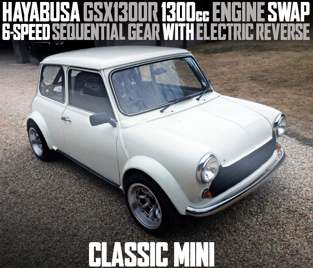 HAYABUSA GSX1300R ENGINE CLASSIC MINi