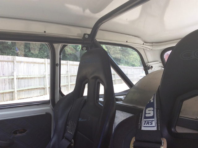 ROLL BAR AND BUCKET SEAT