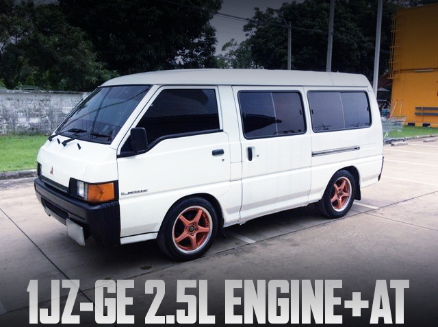 1JZ-GE ENGINE WITH AT 3rd MITSUBISHI DELICA