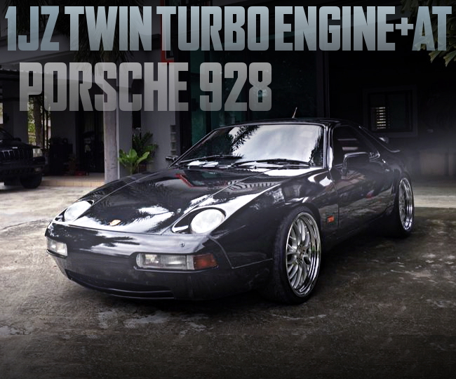 1JZ TWINTURBO WITH AT-SHIFT PORSCHE928