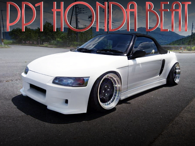 WIDEBODY STANCE PP1 HONDA BEAT WHITE