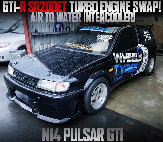 SR20DET AIR TO WATER IC PULSAR GTI