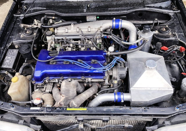SR20DET WITH AIR TO WATER INTERCOOLER