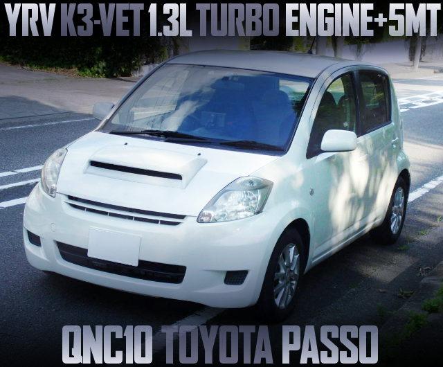 K3-VET TURBO ENGINE QNC10 PASSO