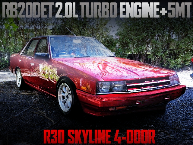 RB20DET TURBO SWAP R30 SKYLINE 4-DOOR