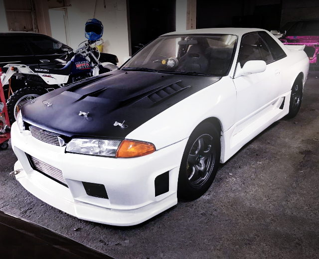 FRONT FACE R32 SKYLINE GT-R