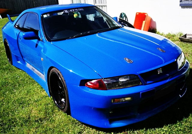 FRONT FACE R33 SKYLINE GT-R LM