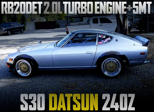 RB20DET TURBO ENGINE 5MT S30 DATSUN 240Z