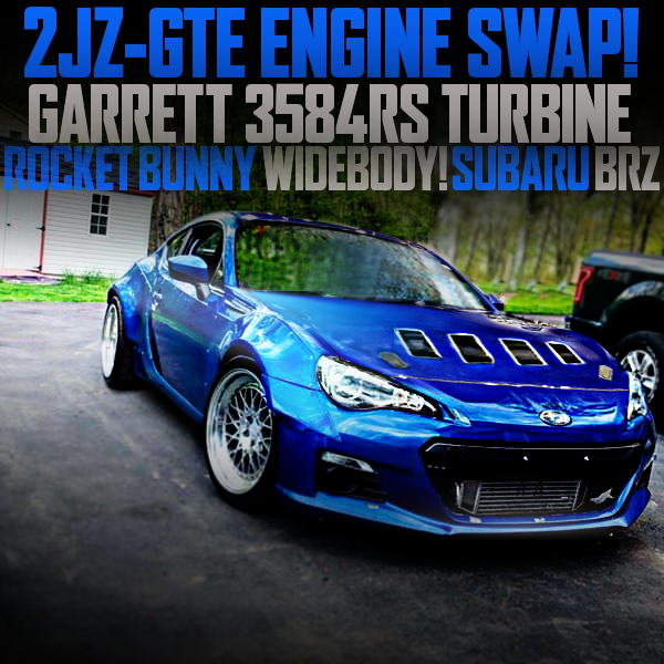 2JZ-GTE ENGINE ROCKET BUNNY BRZ