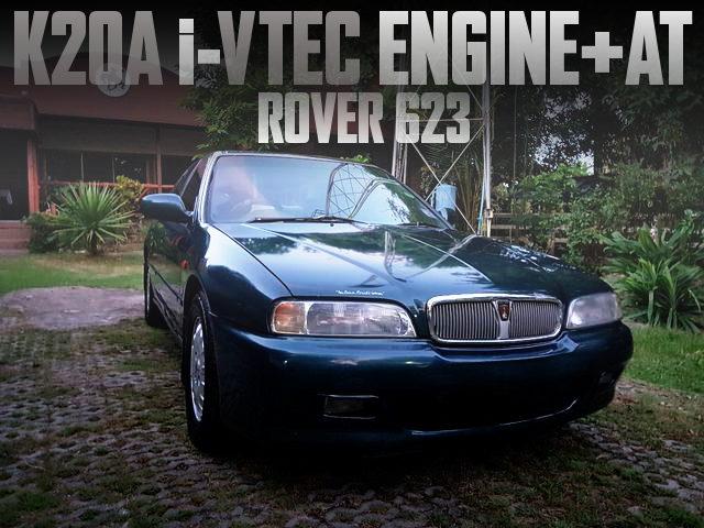 K20A i-VTEC ENGINE ROVER 623