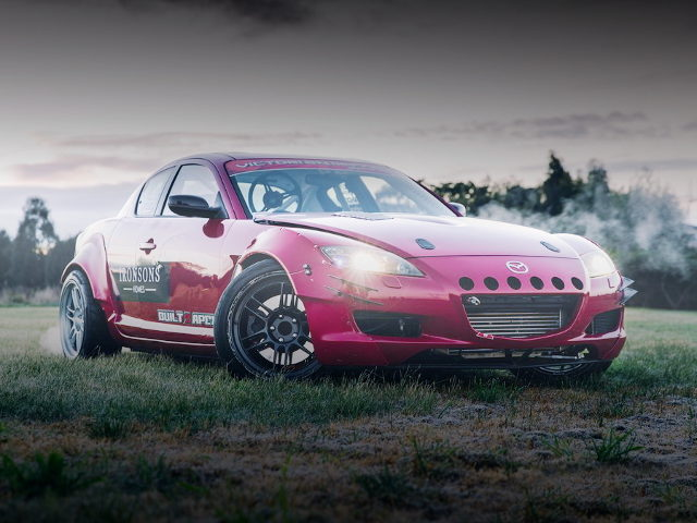 FRONT EXTERIOR MAZDA RX-8 RED