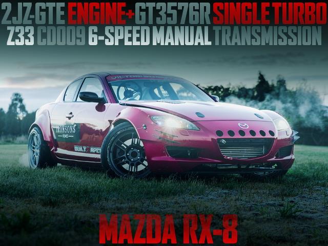 2JZ GT3576R TURBO 6MT RX8