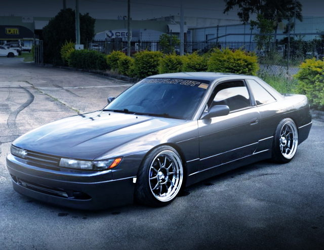 FRONT EXTERIOR S13 SILVIA GRAY