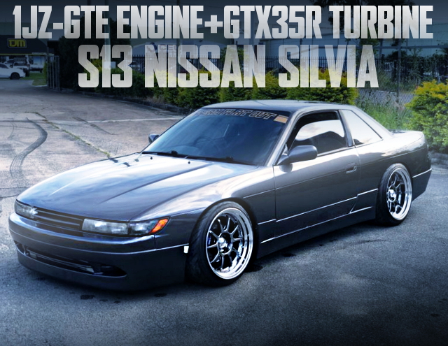1JZ-GTE GTX35R TURBO S13 SILVIA