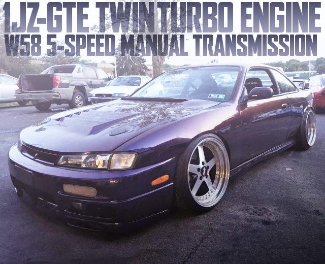 1JZ TWINTURBO ENGINE S14 KOUKI 240SX