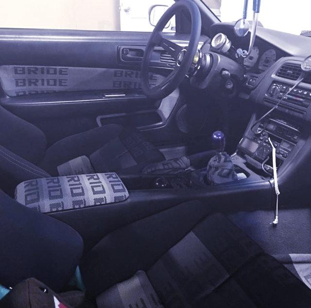 S14 240SX INTERIOR
