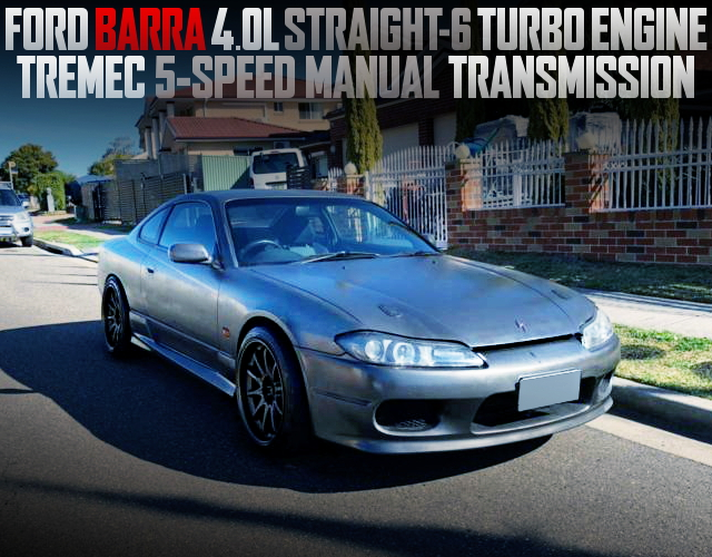 FORD BARRA 4000cc TURBO ENGINE S15 200SX