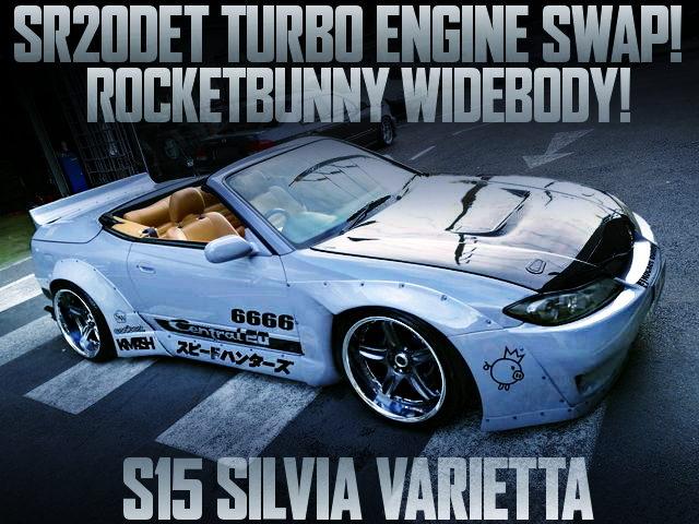 ROCKET BUNNY S15 SILVIA VARIETTA
