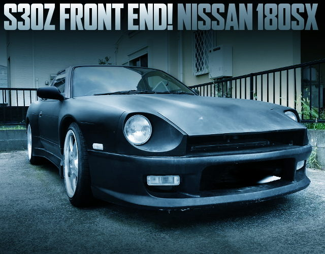 S30Z FRONT END CONVERSION 180SX WIDEBODY