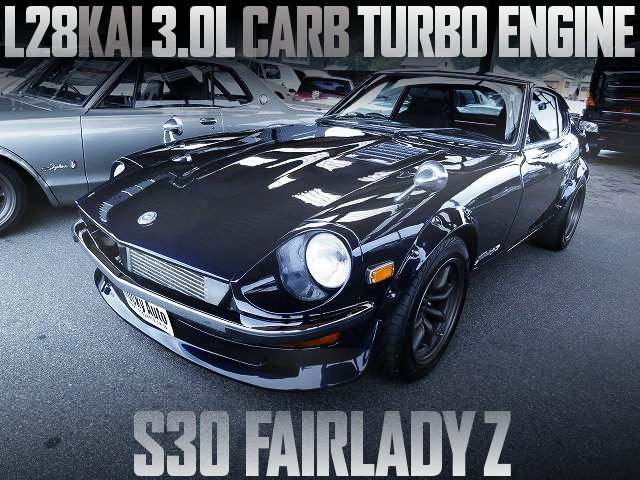 L28 3000cc TURBO ENGINE S30Z